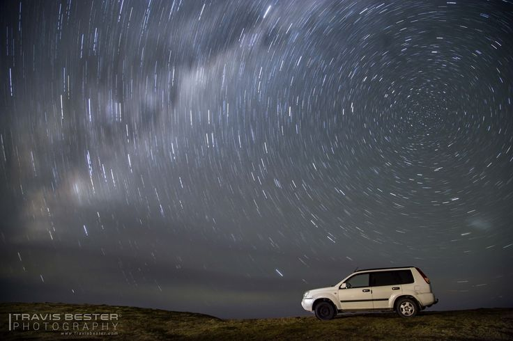 Star Trail, wild coast. - This photography was taken in Coffee Bay, South Africa.