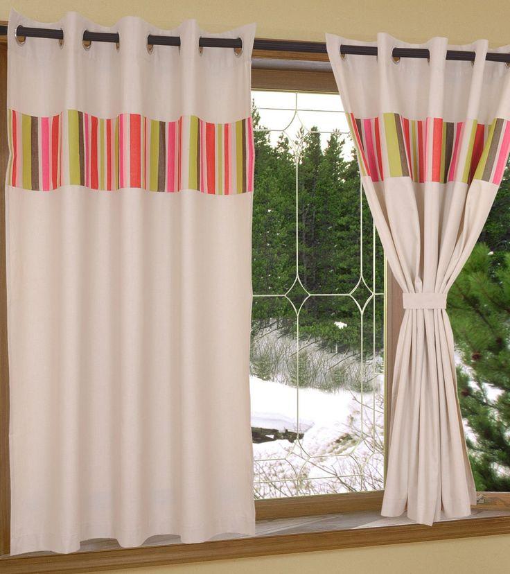 Multicoloured Cotton Window Curtain #indianroots #homedecor #curtain #windowcurtain #cotton