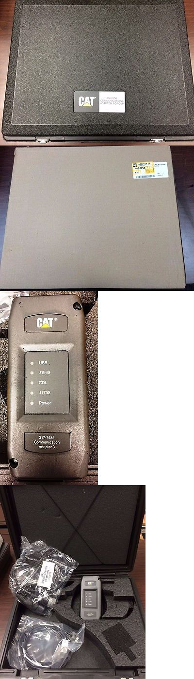 heavy equipment: Brand New: Caterpillar Communication Adapter 3 Kit (P/N 466-6258) BUY IT NOW ONLY: $1200.0