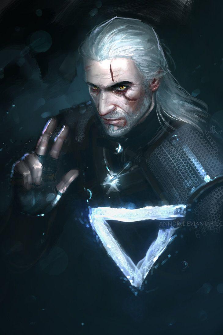 Geralt: axii by anndr.deviantart.com on @DeviantArt