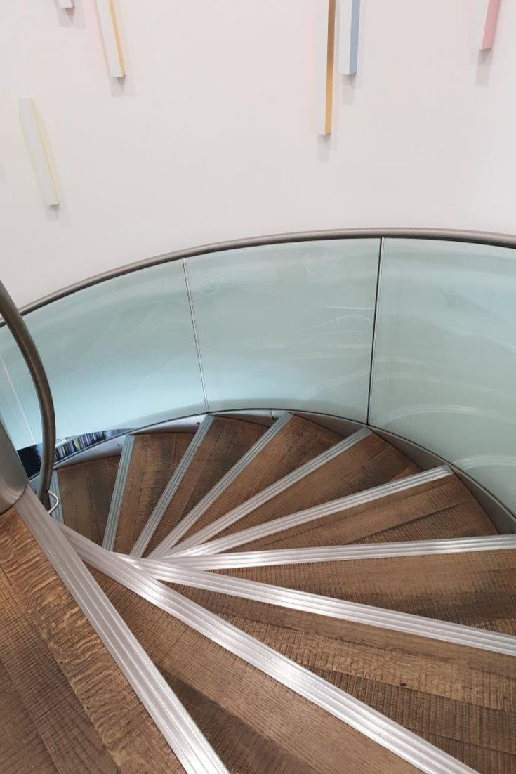 Best A Smart Spiral Staircase For Pictet Asset Management In 640 x 480