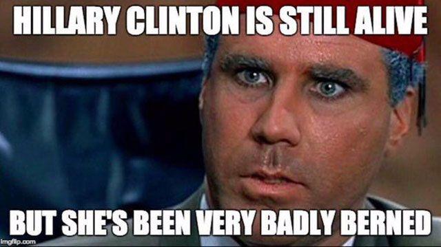 Funny Hillary Clinton Memes: Hillary Is Still Alive
