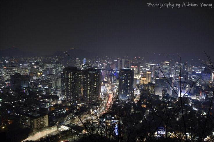 서울 야경 night view  #attraction #travel #backpacker #seoul #nightview
