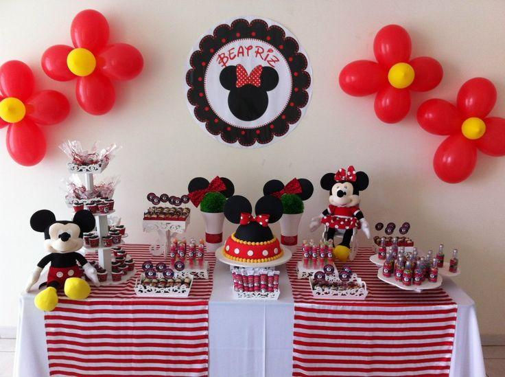Festa Infantil: Tema Minnie - Ideias em Casa