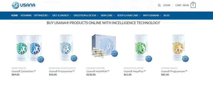 We sell official products online through an approved usana website. We can offer Preferred Customer discounts. Ask the Nutritionist. For more details visit https://www.perfecthealthsupplements.com