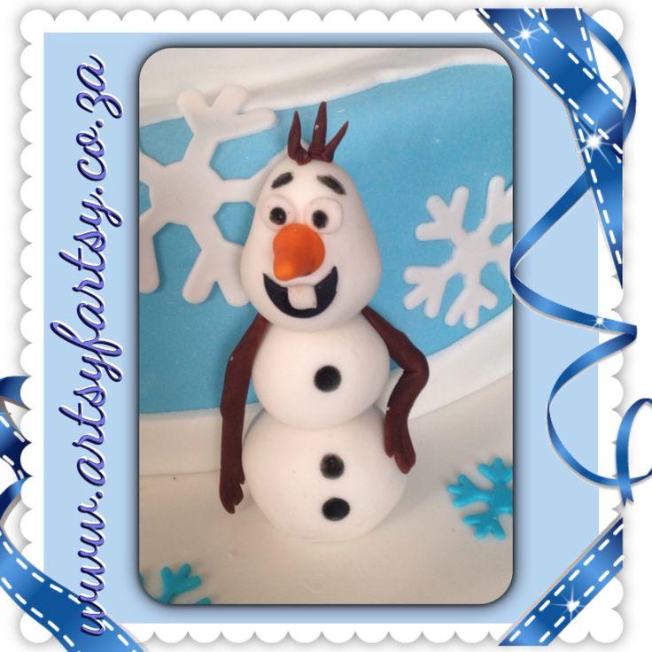 Olaf from Frozen Sugar Figurines