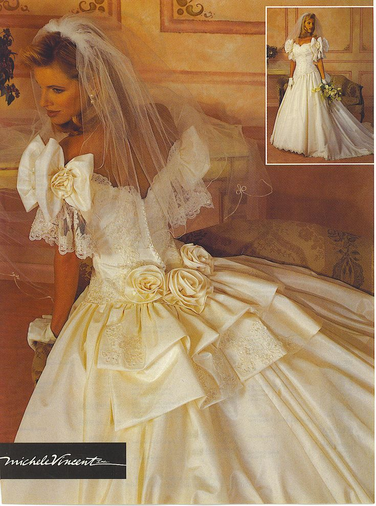 Michelle Vincent from Alfred Angelo. Bridal Gown ad from ...