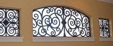wrought iron window treatments houston - Google Search