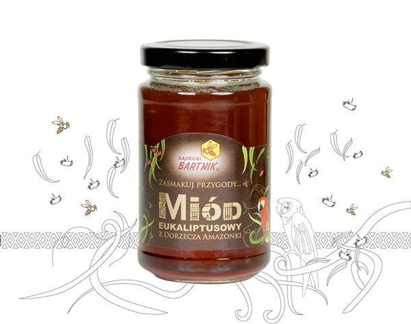 Eucalyptus Honey from Amazon basin, Brasil  | Sądecki Bartnik www.bartnik.pl