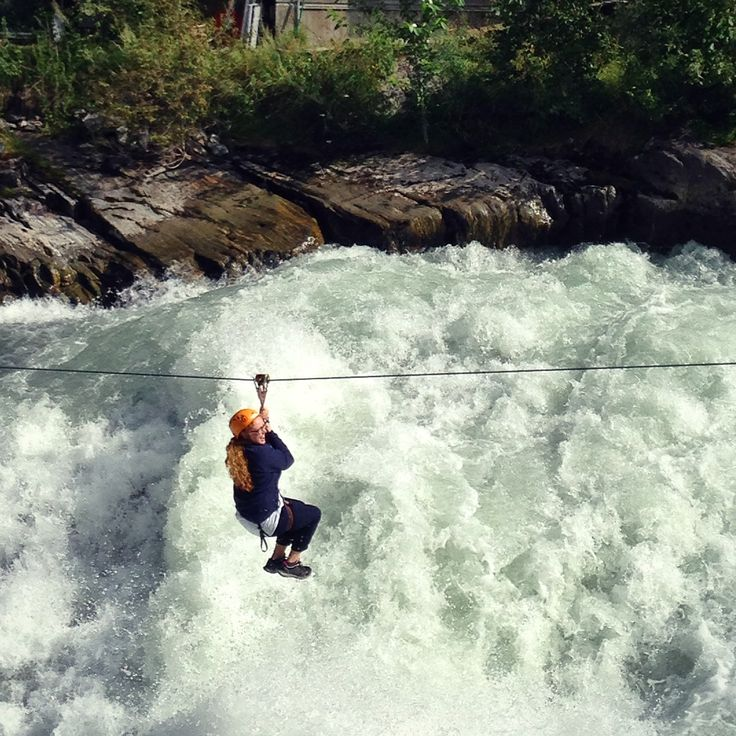 My mom in Lom. Summer '14  #Lom #norway #visitnorway #tourism #river #sports