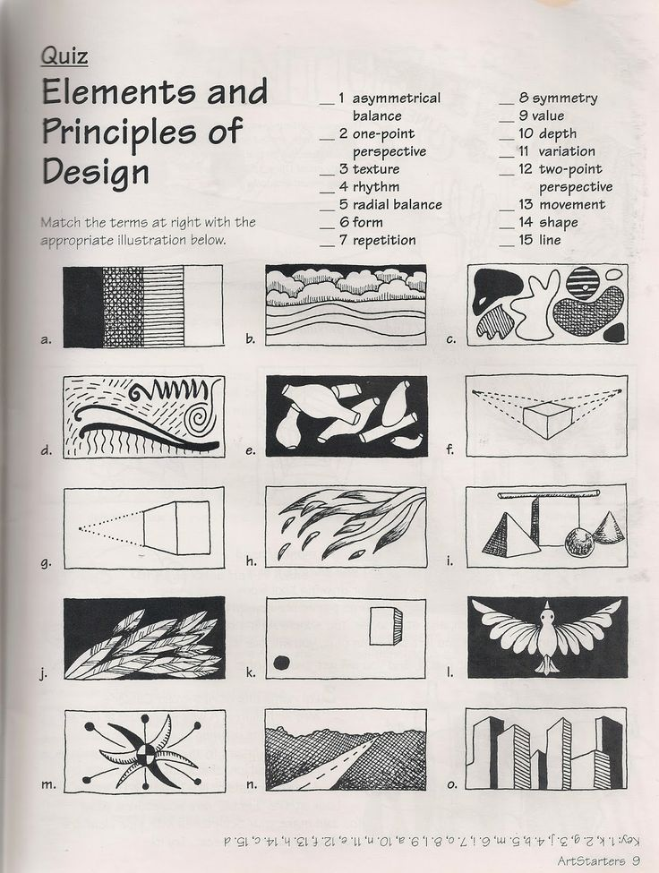 The Elements And Principles Of Design : Elements and principles of design art lessons