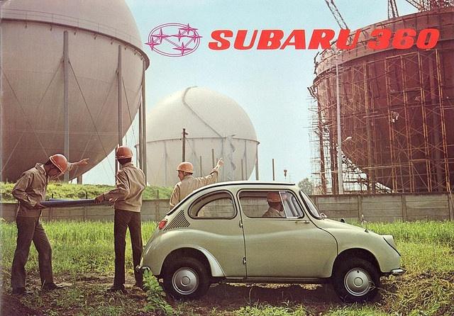 Subaru 360 - Brochure