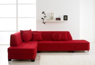 Cronos LF Red ez-cronos Contemporary living room set : Enza Furniture : Sectional Sofas at comfyco.com furniture store