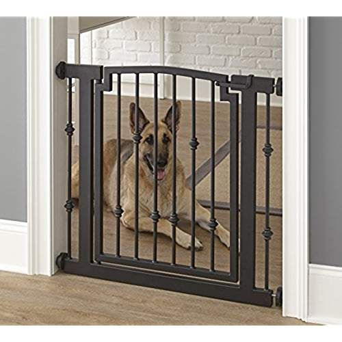 Mypet Metal Easy Close Pet Gate For Dogs Cats