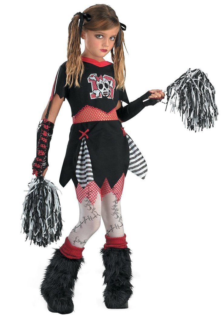 our kids gothic cheerleader costume is a scary and sassy costume for halloween get this cheerless leader costume for a fun and dark halloween costume - Kids Halloween Costumes Amazon