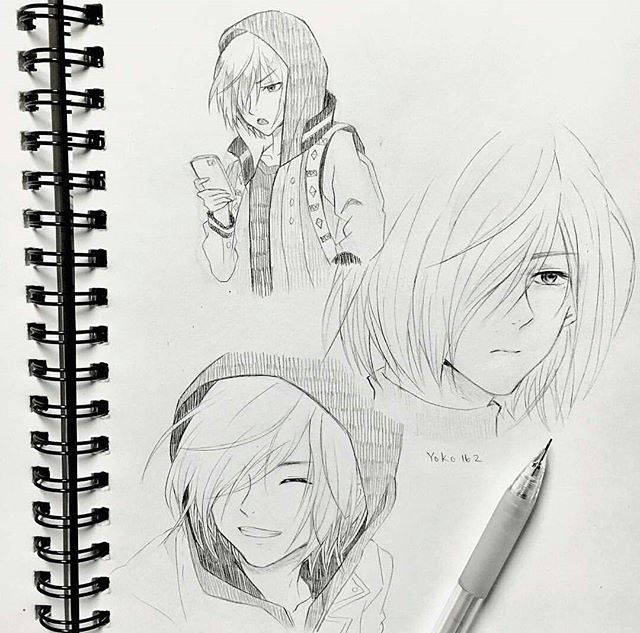 Best Yurio sketches I've ever seen!