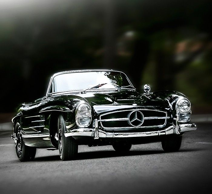 Vintage classic for driving around the French Riviera or Portofino...  Mercedes-Benz 300SL