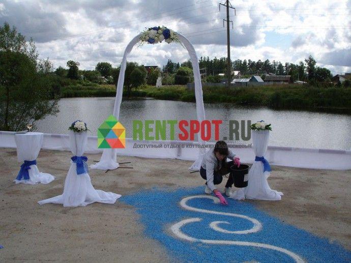 77005 - Коттедж на 50 мест (Киевское шоссе, 30 км от МКАД) - Rentspot.ru