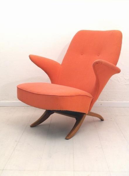 armchair, Theo Ruth, Artifort, '50