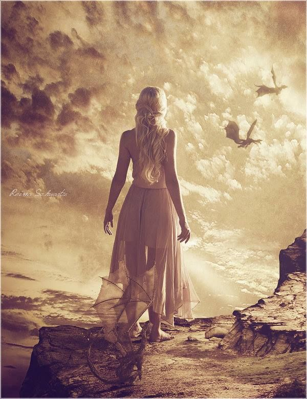 Daenerys, by xReissa  http://xreissa.deviantart.com/art/Daenerys-295782812