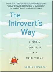 The Introverts Way af Sophia Dembling, ISBN 9780399537691