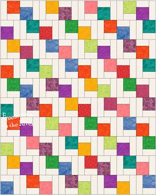 You can check out the video at Missouri Star Quilt Co. called Falling Charms for the tutorial