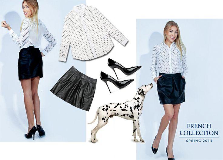 #softoffice #dalmatians #dalmatynczyk #woman #dress #skirt #paris