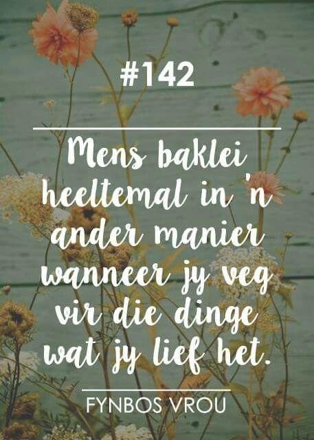 __[Fynbos Vrou/FB] # 142 #Afrikaans