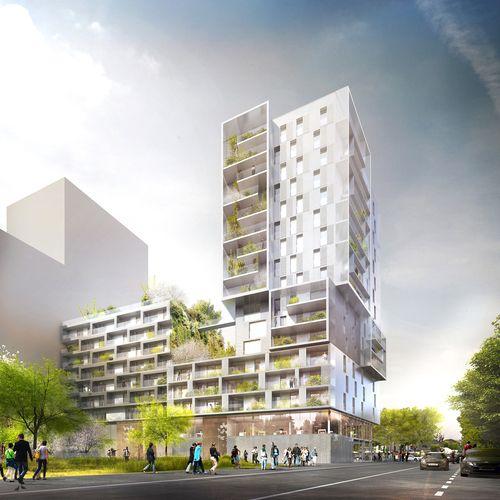 Ameller, Dubois & Associés  — Residential building overlooking the river Seine