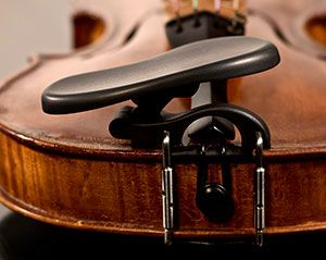 Most comfortable, adjustable, violin, viola chin rest in the world.