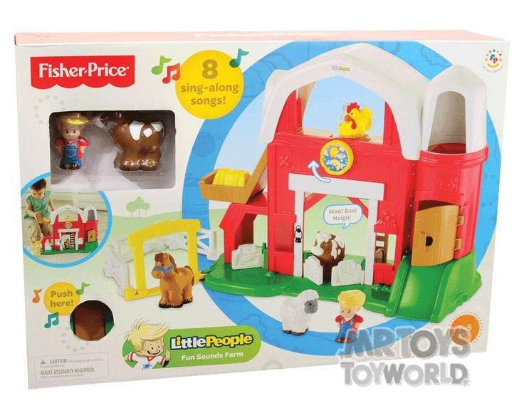 Fisher Price Little People Fun Sounds Farm | Mr Toys Toyworld Online Australia $69