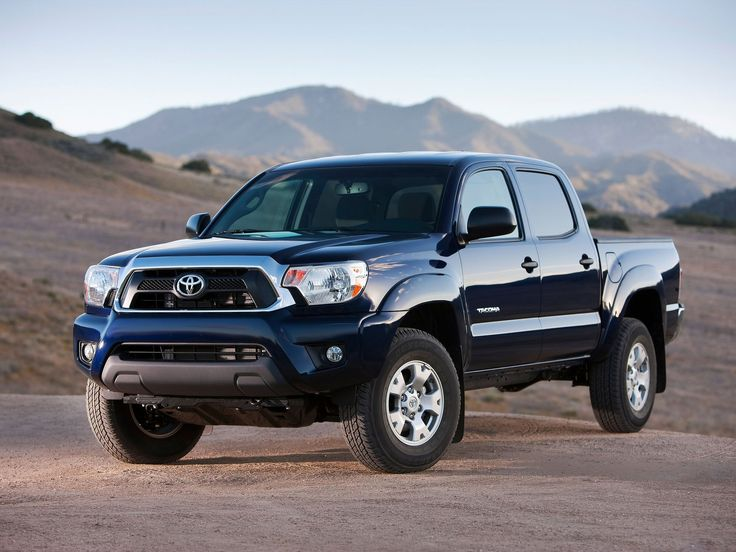 2012 Toyota Tacoma Blue Used Pickup Truck