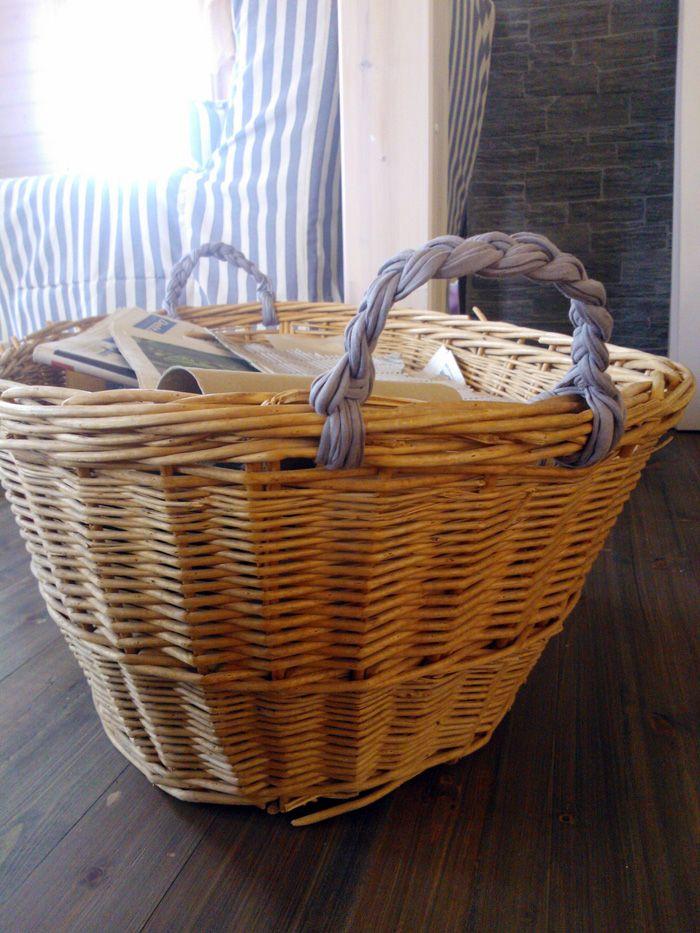 Basket Weaving Handles : Best basket handles images on baskets