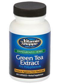 the Vitamin Shoppe Green Tea Extract 470 MG, 100.0 Each , Capsules #myvitabox