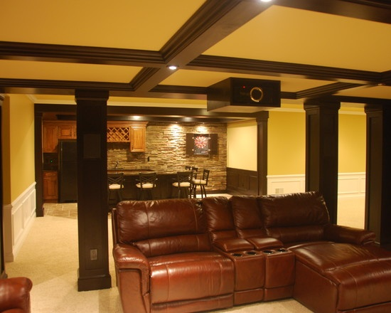 Traditional basement design pictures remodel decor and ideas page 31