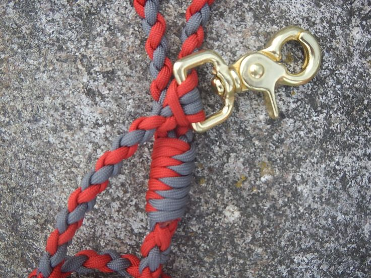 how to make a paracord dog leash youtube