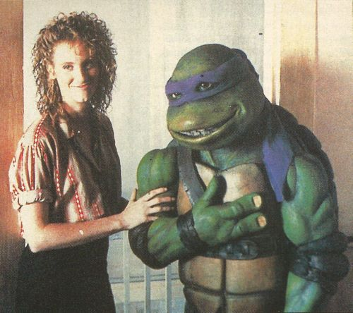 "TMNT 1990 Donatallo: ""It's a kodak moment!"" 