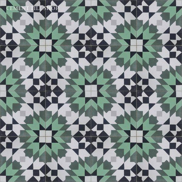 Moroccan Kitchen Floor Tiles: Cement Tile Shop - Encaustic Cement Tile