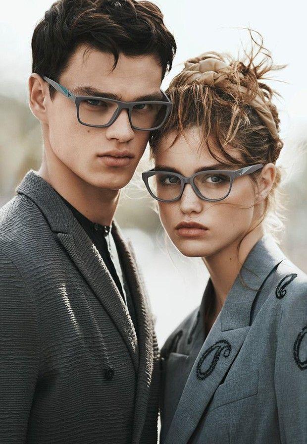 Luna Bijl and Filip Hrivnak Are The New EMPORIO ARMANI Faces