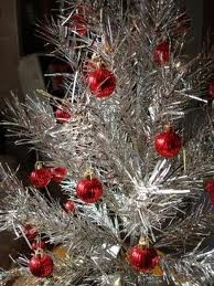 The vintage Silver trees are fab!