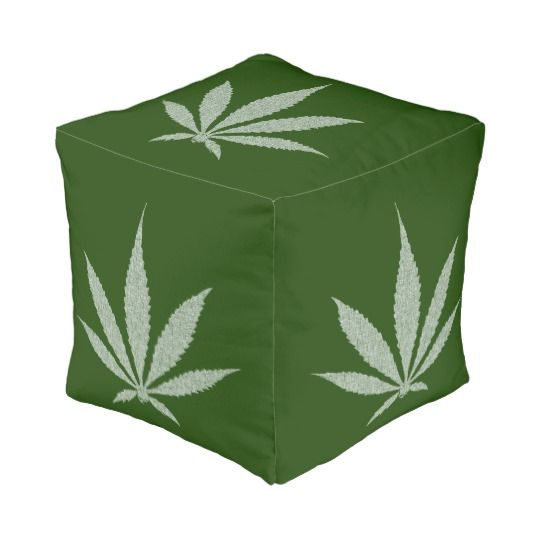 "Ganja cannabis weed smoke pot gray and green theme pouf #home #decor #style #design Size: Small Polyester Cube Pouf (13"" x 13"" x 13"")Put the ""awe"" back in awesome with these one-of-a-kind custom-made poufs. Poufs are a wonderful way to bring unexpected color to your room. Customize with your own pictures, or make your own patterns, either way, these fully customizable poufs will help make your living space unique, beautiful, and totally you.Dimensions: 13"" x 13"" x 13""; Weight: 4.75…"