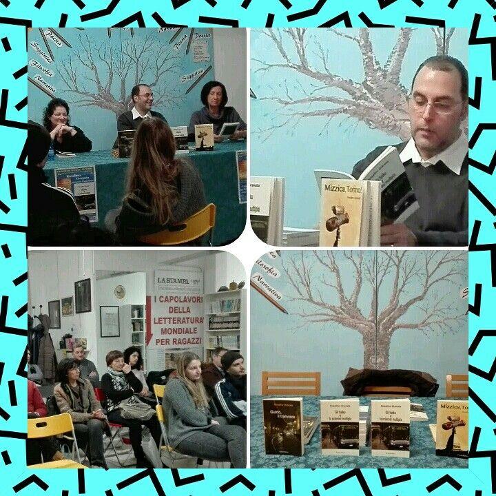 """Ecco le foto della presentazione di oggi del mio ultimo romanzo #glihaikuelasclerosimultipla. Una serata ricca di emozioni grazie alla recitazione della grandissima attrice Cecilia Ventigeno. Ringrazio tutto lo staff della libreria """"Il Cammello"""" di Nichelino (TO) e, tutti coloro che sono venuti e che hanno acquistato i miei libri. Alla prossima!  p.s.: vi aspetto il 6 marzo alle ore 18:00 presso la biblioteca civica """"Cesare Pavese"""" di Torino per una nuova presentazione."""
