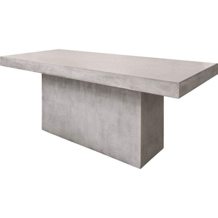 An exciting addition to our ever-expanding range of concrete furniture, the Lista range of polished, light-weight concrete dining tables are provided in a diverse range of sizes to suit dining rooms of any size. All concrete tables come pre-sealed with an acrylic sealant. Customers could choose to re-apply a cement sealer every 2 or 3 years to help extend the original colour finish.