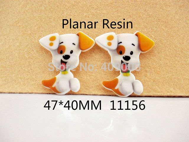 50Y11156 Free Shipping 47*40mm flat back cartoon dog planar resin diy holiday decoration cabachon craft scrapbooking 50pcs/lot-in Resin Crafts from Home & Garden on Aliexpress.com   Alibaba Group