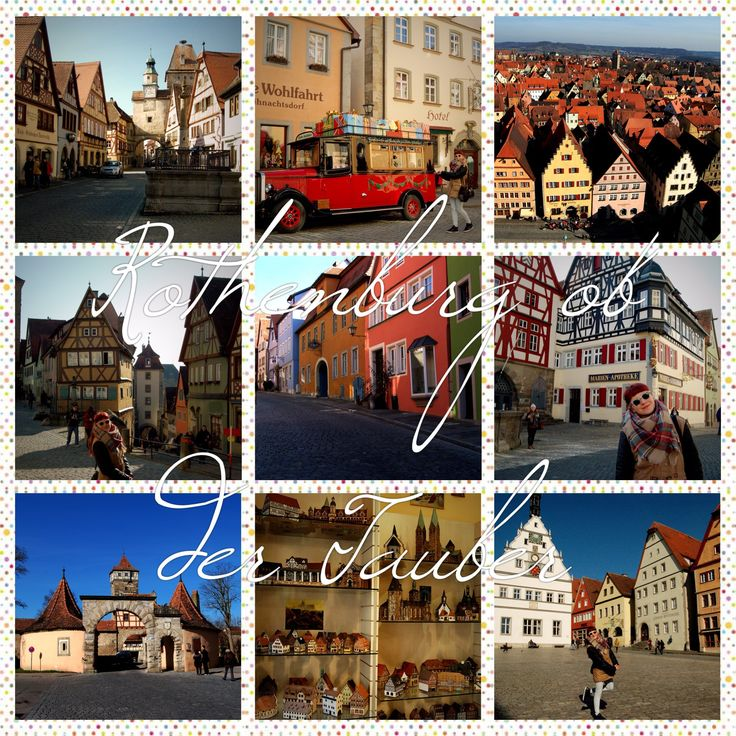 Rothenburg ob der Tauber is considered as one of the most beautiful town in Germany. In my opinion it's a real Fairytale! Check why.