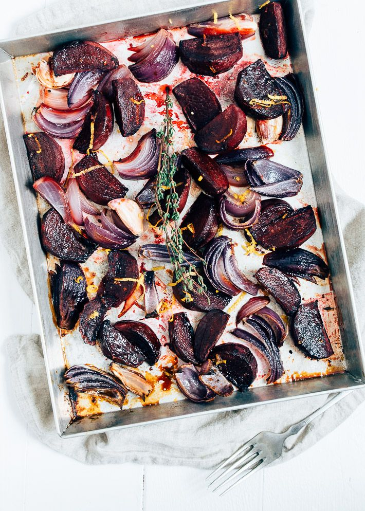 bietjes-in-balsamico #beetroot roasted