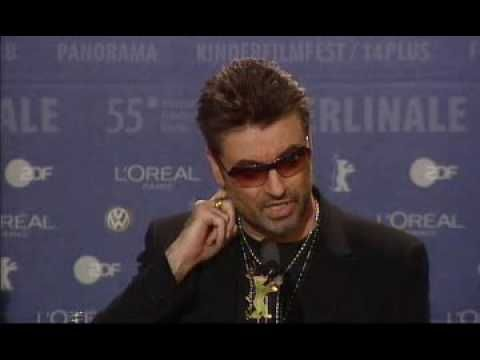 George Michael   A Different Story   Press Conference - YouTube