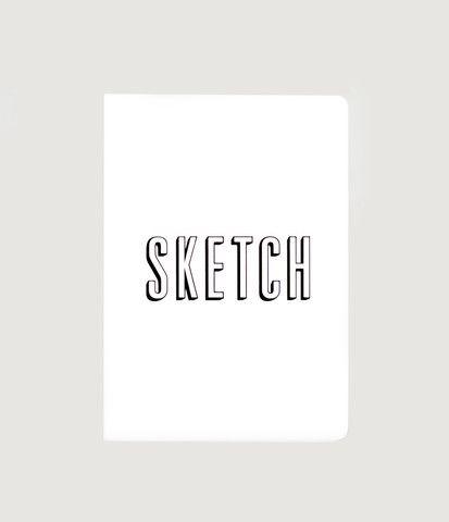 Mi Goals Sketch Pad - A6 (10x15cm) - Grid/Blank - White