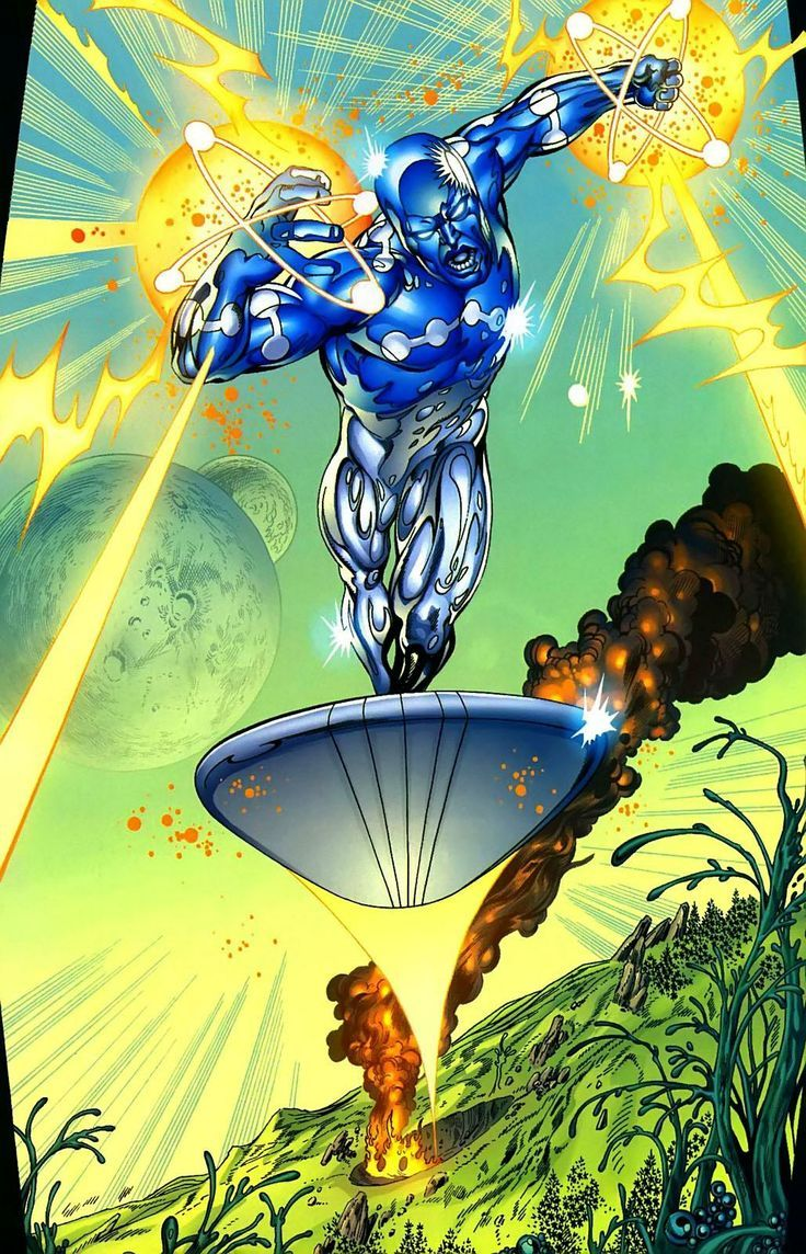 captain universe silver surfer