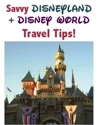 Disney World Tips and Tricks!  34 Disneyland and Disney World Travel Hacks to save you money on your next visit!  You'll love these insider secrets and budget tricks for your next vacation! | TheFrugalGirls.com
